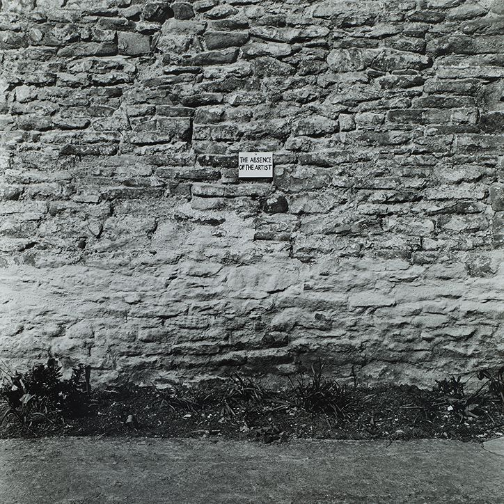 The Absence of the Artist, 1968