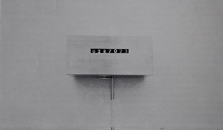An Exhibition of the Duration of the Exhibition, 1969