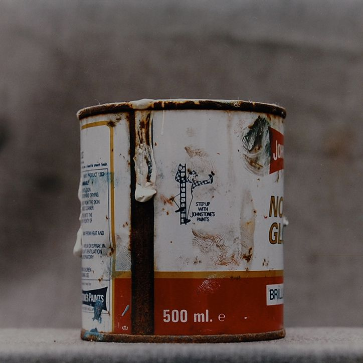 Painter's Cans, 1990